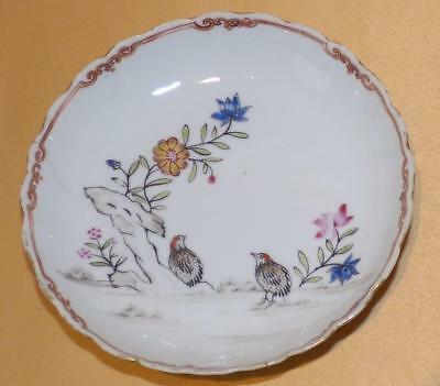 Chinese 2 Quails Pattern Saucer C1760