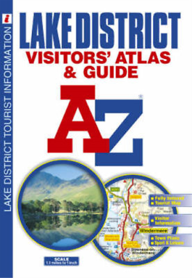 Lake District Visitor's Atlas (A-Z Road Maps & Atlases), Geographers' a-Z Map Co