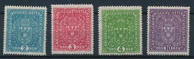 [108603] Austria 1916/18 Good set Very Fine MH stamps