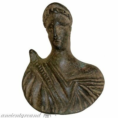 Museum Quality Roman Male Bust , Artemis ? , Circa 100-300 Ad