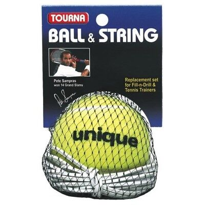 Tourna Replacement Ball-String Replacement-Fill N Drill Trainer-Sampras Trainer