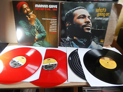 Marvin Gaye - Let's Get it On Live & What's Going on 2 x LP
