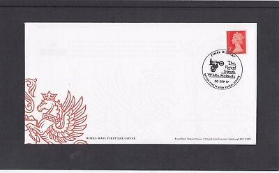 GB 2017 Royal signals Motorcycle White Helmets Display BFPS 3203 spec pmk FDC