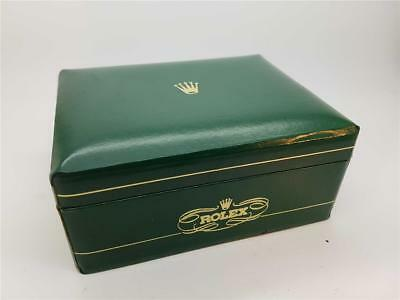 Vintage Rolex Green Wristwatch Presentation Box