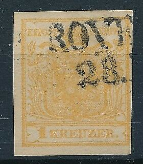 [39100] Austria 1850 Good classical stamp Very Fine used