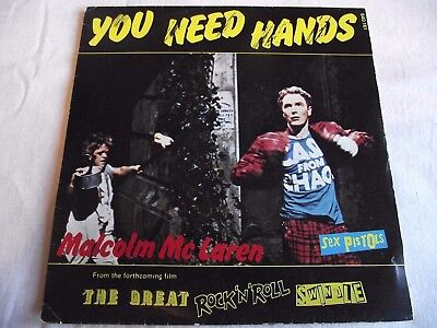 SEX PISTOLS/ MALCOLM McLAREN ~ YOU NEED HANDS ** 1979 French SEX PISTOLS 45