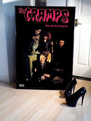 The Cramps Songs The Lord Taught Us Promo Poster,stay Sick,gravest,goth,punk