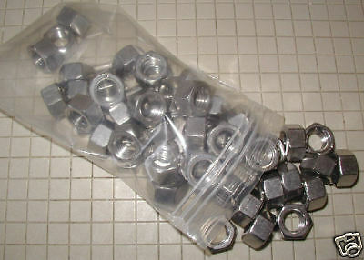 """Stainless Steel Hex Nuts - 3/8"""" - 16  -  25 Ct."""