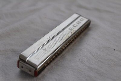 VINTAGE Fully Working FULLY BOXED Mouth Organ HARMONICA M. HOHNER German