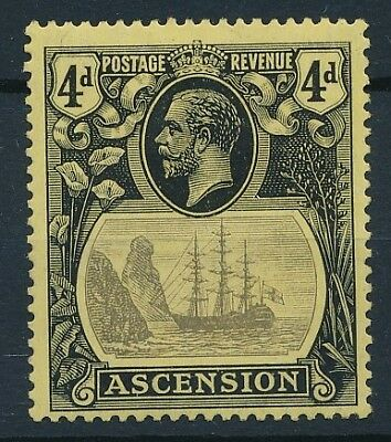 [54157] Ascension 1924-27 good MH Very Fine old stamp $60