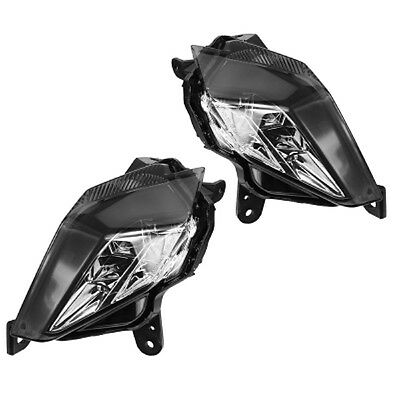 blinkerset LED Tinted with E - Zeichen YAMAHA T-MAX 530 Indicator Maxi Scooter