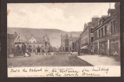 Huntly. The Square. Huntly 1905.