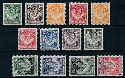 [54208] Nothern Rhodesia 1938/41 Very good set MH Very Fine stamps $200