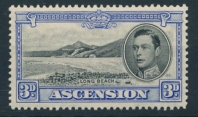 [54214] Ascension Island 1938-44 good MH Very Fine stamp $95