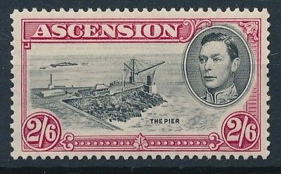 [54215] Ascension Island 1938-44 good MH Very Fine stamp $35