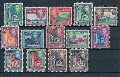 [54239] St-Vincent 1949 good set MH Very Fine stamps $55