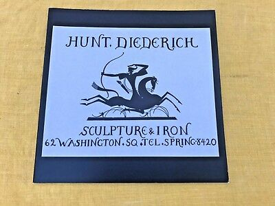 Rare Book On The Art Deco Sculpture, Iron, & Ceramics Of Wilhelm Hunt Diederich