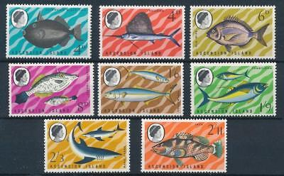 [54826] Ascension 1968 Fishes good set MNH Very Fine stamps
