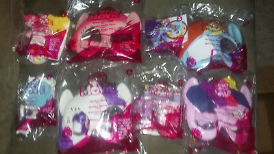 McDonald's MY LITTLE PONY 2017 Happy Meal toys Set of 8 COMPLETE *new*