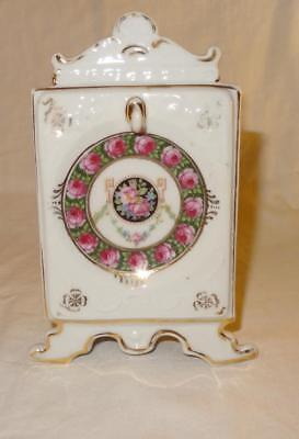 German Porcelain Continental Watch Stand