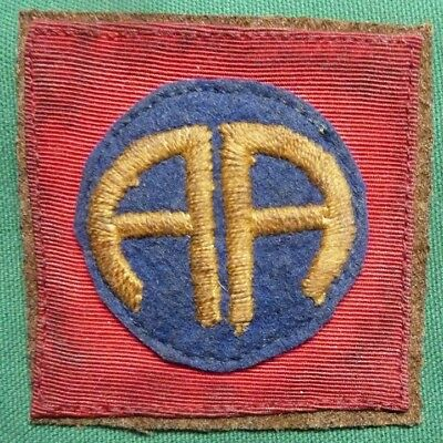 WWI US Army 82nd Infantry Division Sleeve Patch AEF - No Reserve