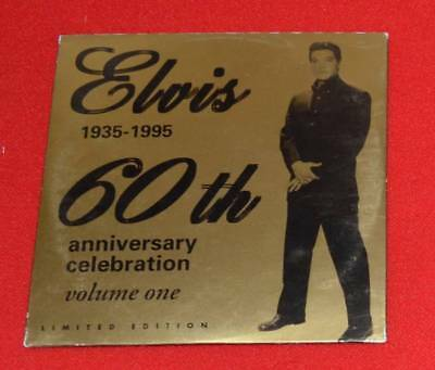 "Elvis ""60th Anniversay Celebration"" PROMO RCA CD Fan Club Release"