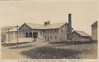 RPPC PLANT of the EMPIRE STATE DAIRY COMPANY  in WINDSOR NY  BOOME COUNTY