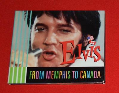 "Elvis ""From Memphis to Canada"" PROMO RCA Limited #'d 344 of 1000 MEGA RARE"