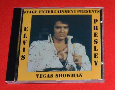 "Elvis ""Vegas Showman"" Factory CD 81/11/73 Midnight Las Vegas Hilton MINT CD"