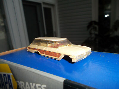 vintage t-jet Slot Car 1962 ford galaxy station wagon  vibrator body