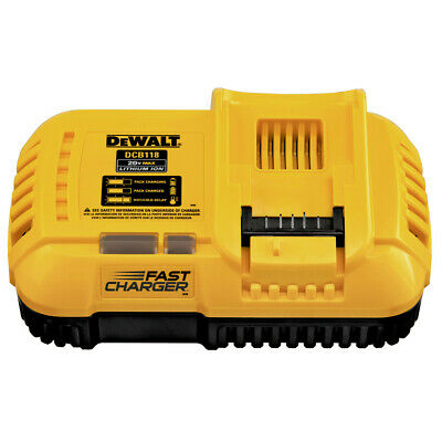 DEWALT DCB118 20V MAX 4/8 Amp Fan-Cooled Fast Charger New