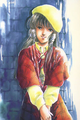 Macross Lynn Minmay With Yellow Hat Poster 12inchesx18inches Free Shipping