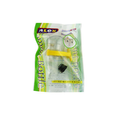 ALEX Design-Quietly Vacuum Small Bottle for Hamster Small Animal Cage 60cc
