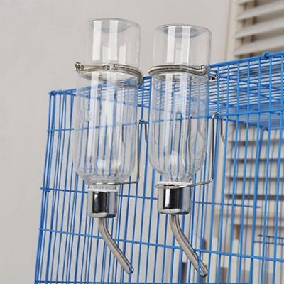 Pet Squirrels Rabbits Hamster Guinea Pigs Fountains Water Bottle Hanging Feeder