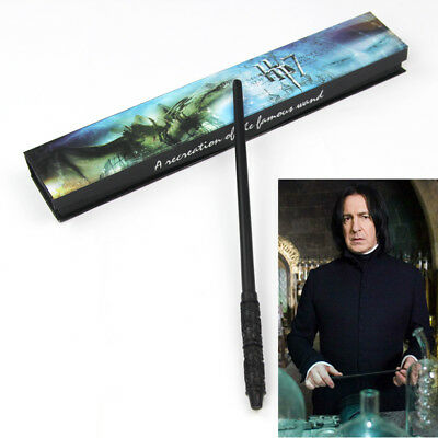 1 pc Severus Snape PVC Resin 36cm Magic Wand Magic Stick in Gift Box Cosplay HOT