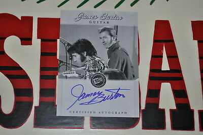 Elvis Presley Press Pass Trading Card 2006 Elvis Lives James Burton Signature