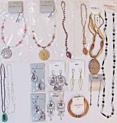 Wholesale Lot FREE Shipping NEW $156 Fashion Jewelry Necklaces Earrings Bracelet