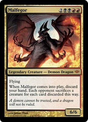 MTG - Malfegor - NM - Conflux - 6 available - Magic the Gathering