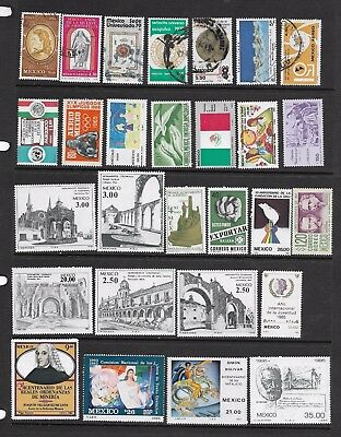 Mexico selection of 27 mainly mint stamps