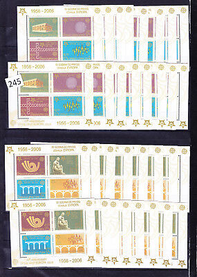 16 X Serbia - Mnh - S/s - Europa 2006 - Architecture - Wholesale