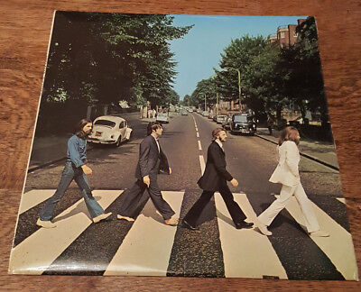 Beatles Abbey Road LP 1st UK Press Misaligned Sleeve + Black Inner *STUNNING*