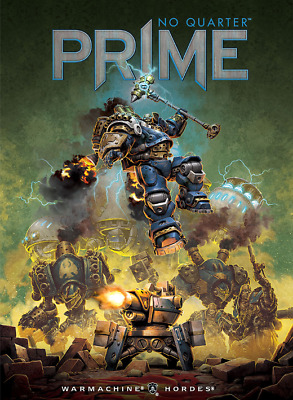 Privateer Press BNIB No Quarter Prime Issue #1 inc free figure NQP01