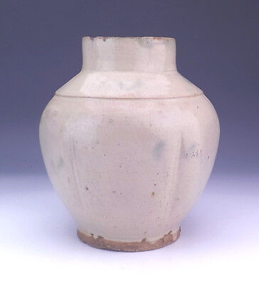 Antique Chinese Oriental - Jun Ware Celadon Glazed Pottery Vase - Early!