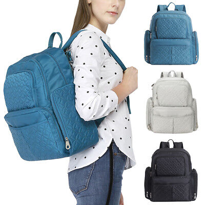 New Baby Pad Diaper Nappy Mother Mummy Backpack Toddler Kids Diaper Bag Set