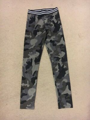 River Island Army Leggings Size 11-12 Years