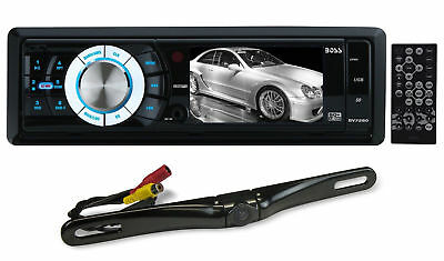 "Boss BV7280 3.2"" In-Dash Car Monitor  USB SD AM/FM Receiver+License Plate Camera"