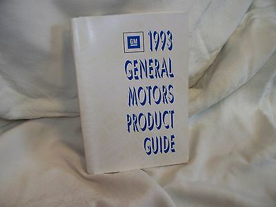 General Motors Product Guide-1993