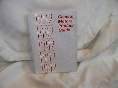 General Motors Product Guide-1992