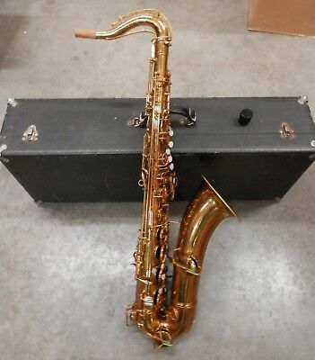 Vintage 1925 Conn Model 10M New Wonder Tenor Sax Saxophone !NORESERVE!