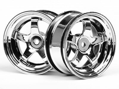 HPI Work Meister S1 Wheel 26mm Chrome (3mm Offset) #3591
